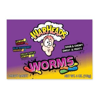 Warheads Worms - 113g
