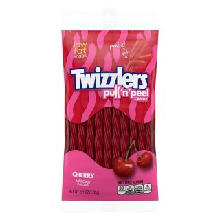Twizzlers Cherry PullnPeel - 172g