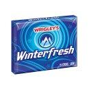 Wrigleys - Winterfresh Gum with Sugar 15 Sticks - 48g