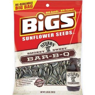 Bigs - Bar-B-Q Sunflower Seeds - 152g