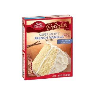 Betty Crocker - Super Moist - French Vanilla Cake Mix - 432 g