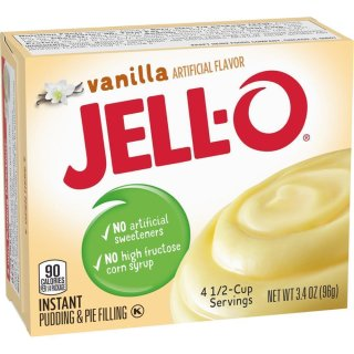 Jell-O - Vanilla Instant Pudding & Pie Filling - 96 g
