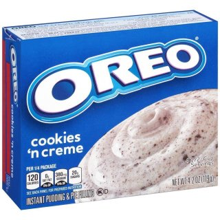 Jell-O - Oreo Cookies And Cream Instant Pudding & Pie Filling - 119 g