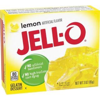 Jell-O - Lemon Gelatin Dessert - 85 g