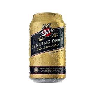 Miller - Genuine Draft - 355 ml