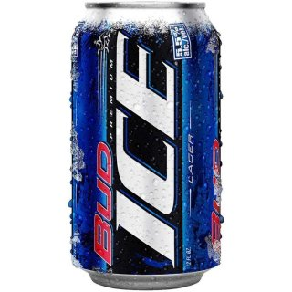 Bud Ice - Premium Lager - 355 ml