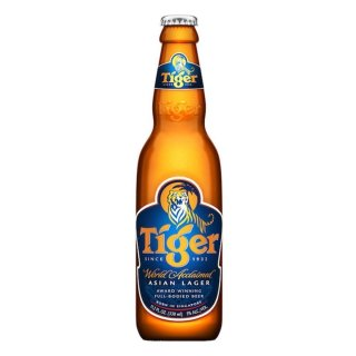 Tiger - Asian Lager Beer 5% Vol/Alc. - 330 ml (inkl. Pfand)