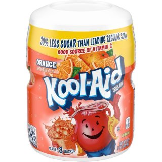 Kool-Aid Drink Mix - Orange - 12 x 538 g