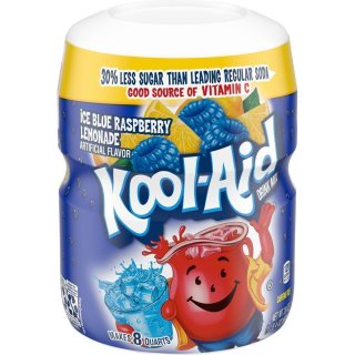 Kool-Aid Drink Mix - Blue Raspberry - 12 x 538 g