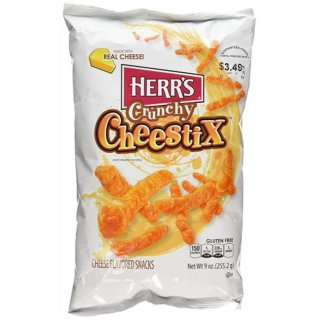 Herrs - Crunchy Cheestix - 255,2g