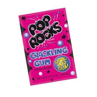 Pop Rocks Crackling Gum - 1 x 10,5g