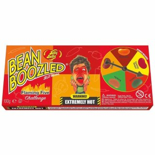 Jelly Belly Bean Boozled Flaming Five Challenge - 100g
