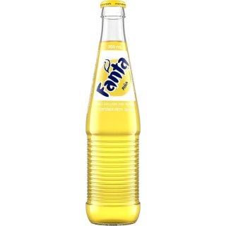 Fanta - Pineapple - Glasflasche - 1 x 355 ml