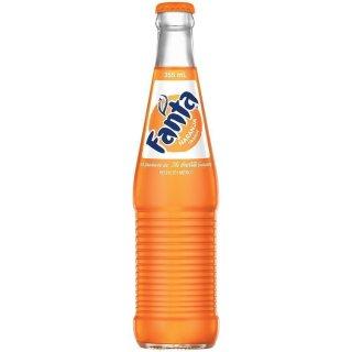 Fanta - Orange - Glasflasche - 1 x 355 ml