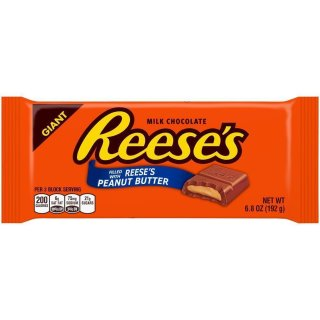 Reeses Peanut Butter Chocolate Candy Giant Bar - 192g