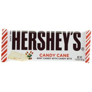Hersheys - Candy Cane - Limited Edition - 1 x 43g
