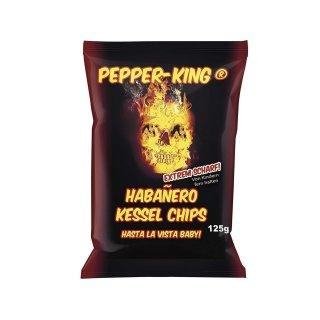 Pepper-King Habanero Kessel Chips - 125g