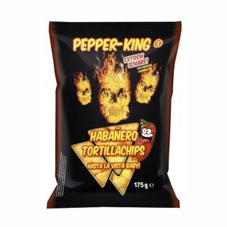 Pepper-King Habanero Tortillachips - 175g