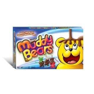 Muddy Bears - Milk Chocolate Covered Gummibears - 88g