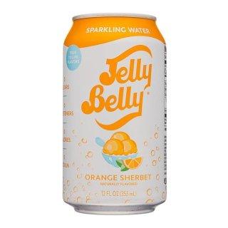 JellyBelly Sparkling Water Orange Sherbet - 1 x 355ml