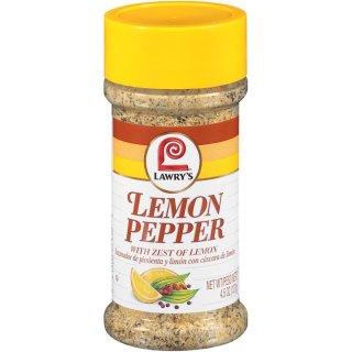 Lawrys - Lemon Pepper - 127g