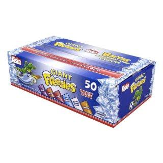 Kisko Giant Freezies 50 Pops - 1 x 7,9kg