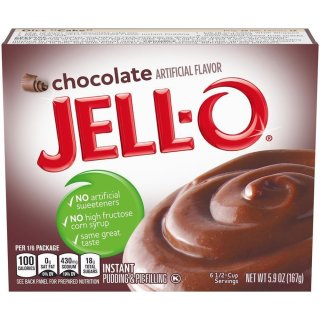 Jell-O - Chocolate Instant Pudding & Pie Filling - 167 g