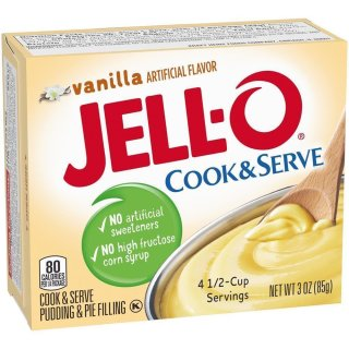 Jell-O - Cook&Serve Vanilla - 85 g