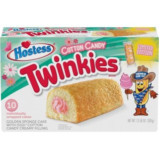 Hostess Twinkies - Cotton Candy Limited Edition - 385g
