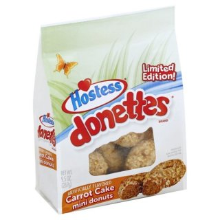 Hostess Donettes - Carrot Cake Donuts Limited Edition - 269g