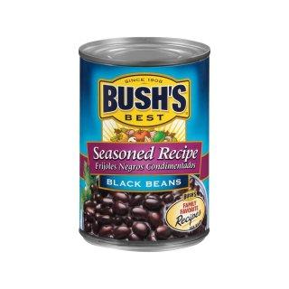 Bushs - Seasoned Recipe Black Beans - 425 g