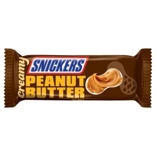 Snickers Creamy Peanut Butter - 1 x 39,7g