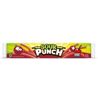 Sour Punch Cherry Straws - 57g
