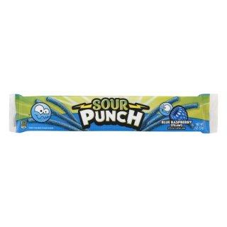 Sour Punch Blue Raspberry Straws - 57g