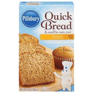 Pillsbury - Quick Bread & muffin Mix Banana - 1 x 396g