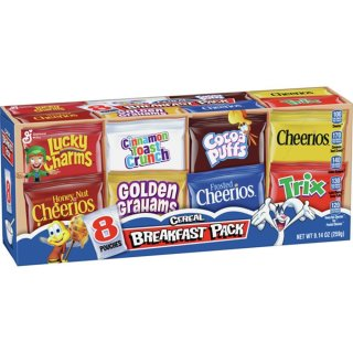 Cereals Breakfast Pack 8 Pouches - 259g