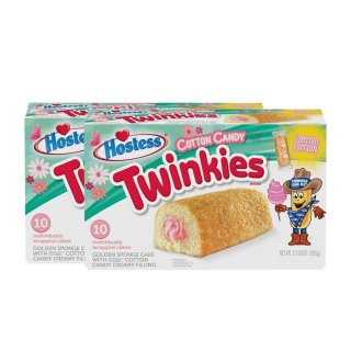 Hostess Twinkies - Cotton Candy Limited Edition - 2 x 385g