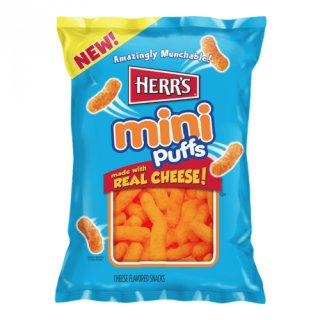 Herrs - mini Puffs with Real Cheese - 170g