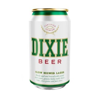 Dixie Beer Slow Brewed Lager - 355ml