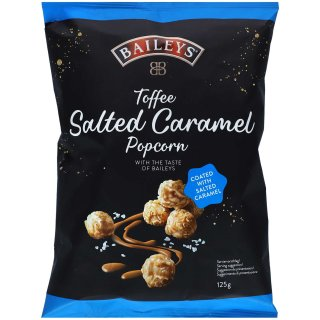 Baileys Toffee Salted Caramel Popcorn - 125g