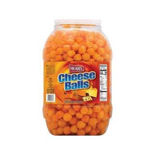 Herrs Cheese Balls Barrel - 482g