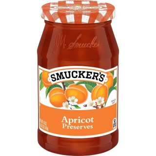 Smuckers Apricot Preserves - Glas - 510g