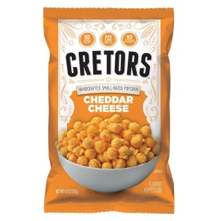 Cretors - Cheddar Cheese Corn Popcorn - 185g