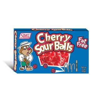 Cherry Sour Balls Fat Free - 85g