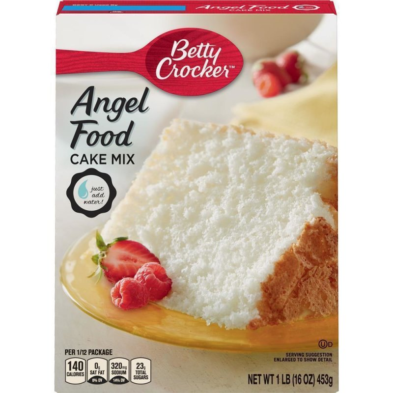 White Angel Food Cake Mix