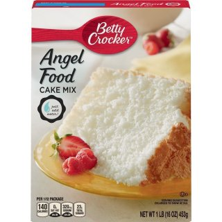 Betty Crocker - Super Moist - White Angel Food Cake Mix (453g)