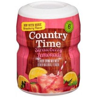 Country Time - Strawberry Lemonade - 1 x 510 g