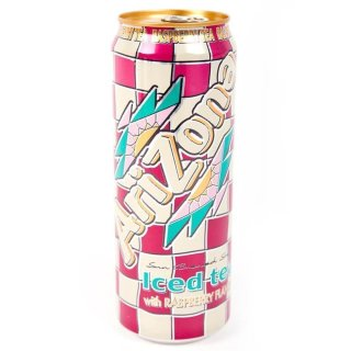 Arizona - Raspberry Iced Tea  - 1 x 680 ml