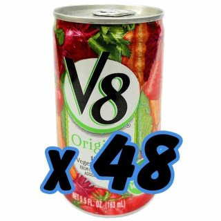 V8 - Vegetable Juice - 48 x 163 ml