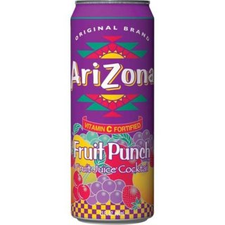 Arizona Fruit Punch with all natural flavours (12x 680ml)